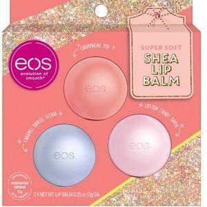 EOS Super Soft Shea Lip Balm, set of 3